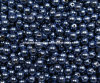 Czech Glass Pearls 4mm Royal Blue