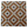 Marble Vitrified Rustic Floor Tile 600*600