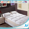 Warm Double Layers Surround Goose Down Feathe Mattress Topper Protector for Hotel Home