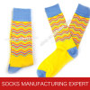 Men′s 200n Combed Cotton Sock