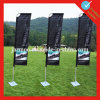 Outdoor Teardrop Beach Flags with Logo Printed for Advertising