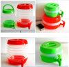 Transparent Plastic Foldable Water Jug
