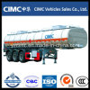 Tri Axle 50000 Liter Oil Tanker Trailer