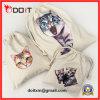 Cat Cotton Canvas Drawstring Bag Set for Travel