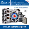 8 Colors Stack Type High Speed Flexography Printing Machine