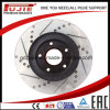 40206-Al500 40206-8j006 Cross Drilled and Slotted Car Brake Disc Rotor