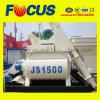 Hot Sale Twin Shaft Concrete Mixer, Js1500 Forced Concrete Mixer