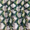 Printed Silk Cdc in Snake Skin Design