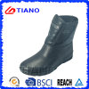 Black Comfortable PVC Rain Boots for Ladys (TNK70012)
