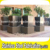 Powder Coated Stainless Steel Planter Metal Flower Pot