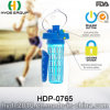Popular Plastic Tritan Fruit Infuser Water Bottle, Customized Plastic Sport Water Bottle (HDP-0765)