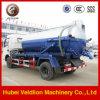 White High Pressure Fecal Suction Truck
