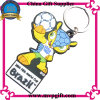 3D Plastic Key Chain for Soccer Event