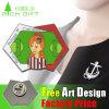 Diaphanous Lanyard Aluminum Small Size Pin Badge with Customized Logo