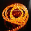 Manufacture IP65 Waterproof 3 Wire Round Horizontal LED Rope Light