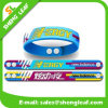 High Quality Rubber Swirled Bracelet Promotional Gift