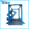 Side Turn Vertical Type Garbage Compressor