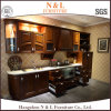 Cherry Solid Wood Design Kitchen Cabinets with ISO9001, SGS Certification
