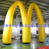M Words Inflatable Arch/Oxford Cloth Inflatable Arch