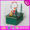 2015 New Wooden Music Box for Gift in Hot Sale, Unique Design Kids Wooden Music Box, Children Wooden Carousel Music Toy W07b018A