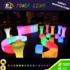Color Changing Plastic Chair LED Long Beach