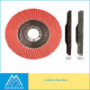 5*7/8 Inch 36#-120# 125*22mm Ceramic Flap Disc for Grinding Stainless Steel