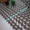 6mm Shiny Silver Hanging Metal Bead Curtain