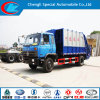4X2 Big Volume Garbage Compactor Truck