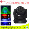 7PCS 12watt RGBW 4in1 LED Mini Moving Head Beam Light for DJ Party