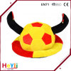 Funny Champions World Cup Football Soccer Competitions Warm Party Hat with Ox Horn