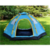 5-8 Person Double Layers Half Cover Camping Tent