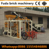 China Semi Automatic Interlocking Paver Brick Making Machine in Sudan