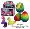 New Funny Ginormouns Unicorn Egg Toy