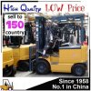 Electric Battery 1 Ton 1.5 Ton Small Forklift for Sale