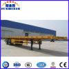 2 Axle/3 Axle 40′ Flatbed Container Semi Trailer