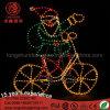 LED Santa Clause Snowman Motif Christmas Light for Street