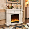 Hotel Furniture LED Lights Heater Ce Approved Electric Fireplace (343)