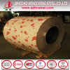 Wooden Pattern Color Coated Steel Sheet/Flower Design PPGI
