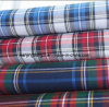 Yarn Dyed Cotton Twill Check Fabric Peached (LZ6115)