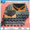 Anti-Skid Dog-Bone Shape Paver Interlocking Rubber Tile