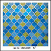 Houndstooth Design Oil Painting for Home Decoration (LH-700502)
