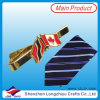 Popular Funny Tie Clip with Flag Design Men Tie Bar Tie Pin (lzy00003)