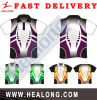 Healong Best Digital Sublimation 100% Polyester Polo Shirt