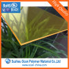 Yellow Translucent PVC Plastic Sheets for Furniture Building Stuff