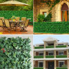 Environmental Fake Hedge Fence Artificial Outdoor Boxwood Fencing