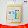 Big OPP Bag Package Cheap PE Disposable Raincoats with Sleeves for South Korea