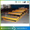 Load 1000kg Hydraulic Fixed Roller Scissor Lift Tables