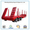 3 Axles Stake Truck Semi Trailer for Wood Transport
