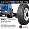 Km322 All Position Truck Tyre (12R22.5 315/80R22.5 13R22.5 10.00R20 12.00R20 12.00R24)