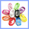 Colorful Micro USB Cable for Samsung/HTC/Blackberry Mobile Phones